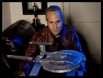 Doug Drexler is Special Guest at USS Angeles' Zoom Away Mission